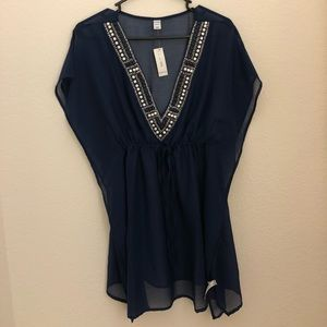 Old Navy, Navy Blue Cover Up